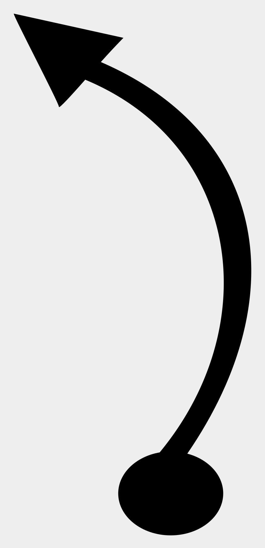 arrow clip art, Cartoons - Curved Arrow Circular Arrow Clip Art - Curved Arrow Lines Png