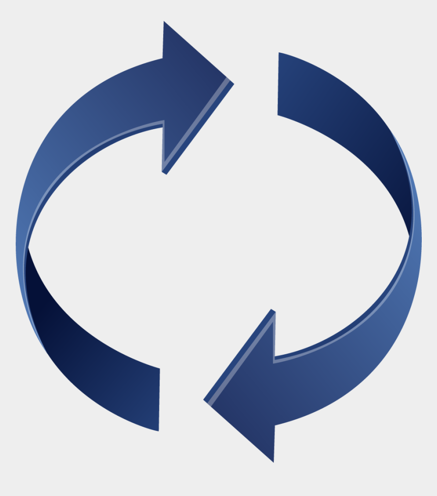 arrow clip art, Cartoons - Circle With Arrows Clip Art Clipartfest Clipart - Reverse Arrows