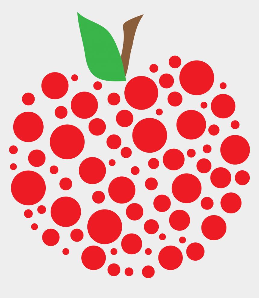 apple clip art, Cartoons - Polka Dot Clip Art Free - Teacher Apple Clipart