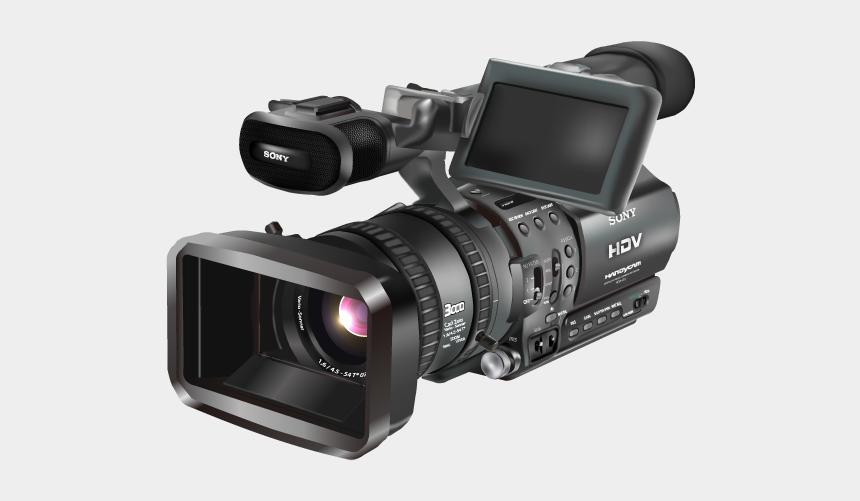 camera clipart, Cartoons - Digital Video Camera Clipart - Video Camera Png