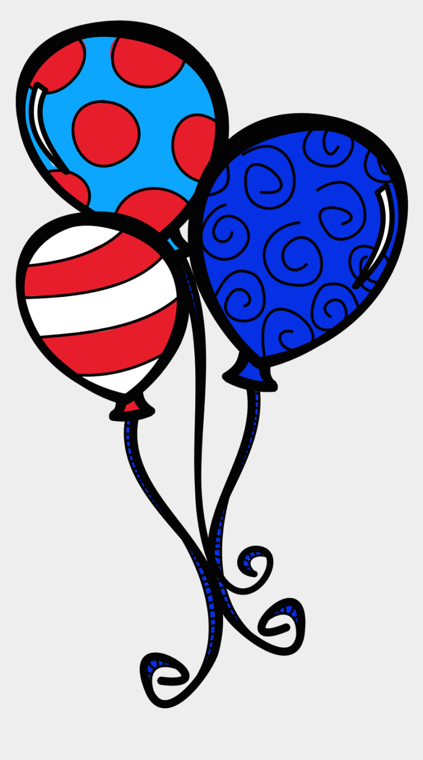 balloon clipart, Cartoons - Dr Seuss Balloon Clipart - Happy Birthday Dr Seuss Balloons