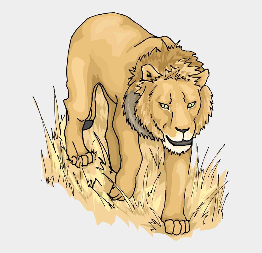 lion clipart, Cartoons - Lion Clipart Lion Side A Clipart Image - Lion Animation