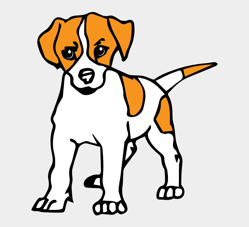 Dog Clipart Dessin De Chien En Couleur Cliparts Cartoons