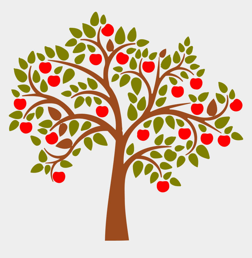 tree clip art, Cartoons - Teacher Apple Png - Apple Tree Clipart Transparent Background