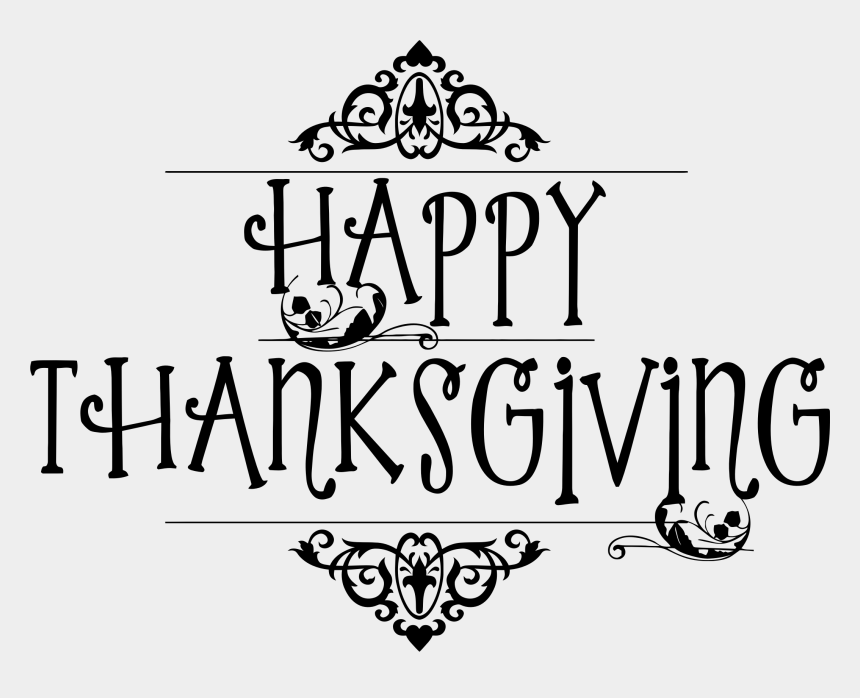 thanksgiving clipart, Cartoons - Happy Thanksgiving Clipart - Happy Thanksgiving Clipart Black And White