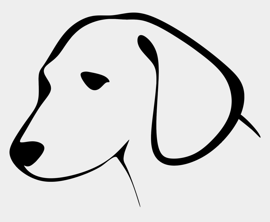 dog clipart, Cartoons - Dogs Vector Dog Clipart - Dog Head Clipart Black And White