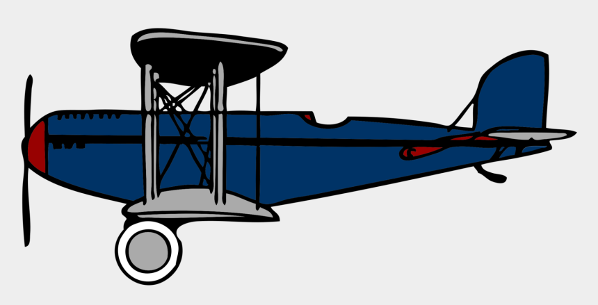 airplane clipart, Cartoons - Airplane Clipart Image Biplane With Propellers Turning - Biplane Clip Art