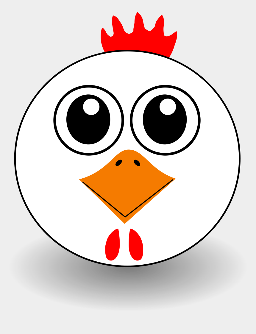 chicken clipart, Cartoons - Chicken Clipart, Vector Clip Art Online, Royalty Free - Chicken Face Clipart