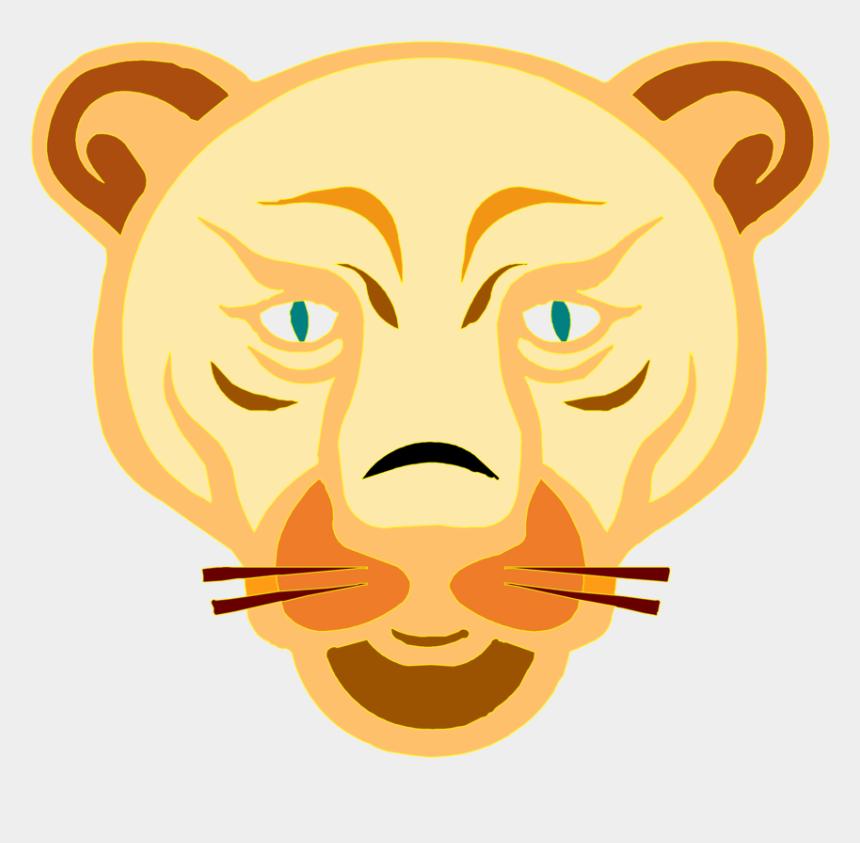 lion clipart, Cartoons - Lion Clipart Images - Female Lion Cartoon Face