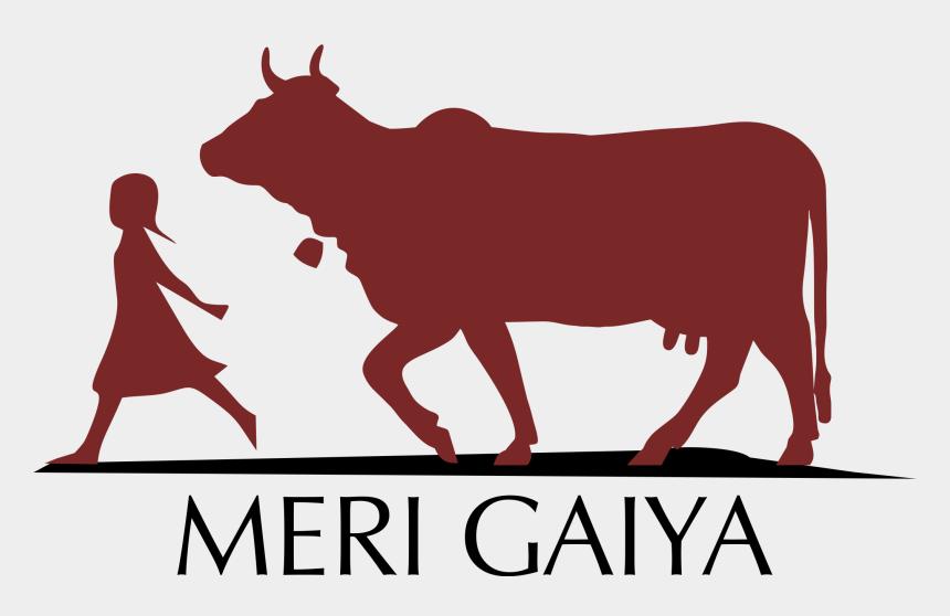 cow clipart, Cartoons - Bull Clipart Gir Cow - Desi Cow Logo