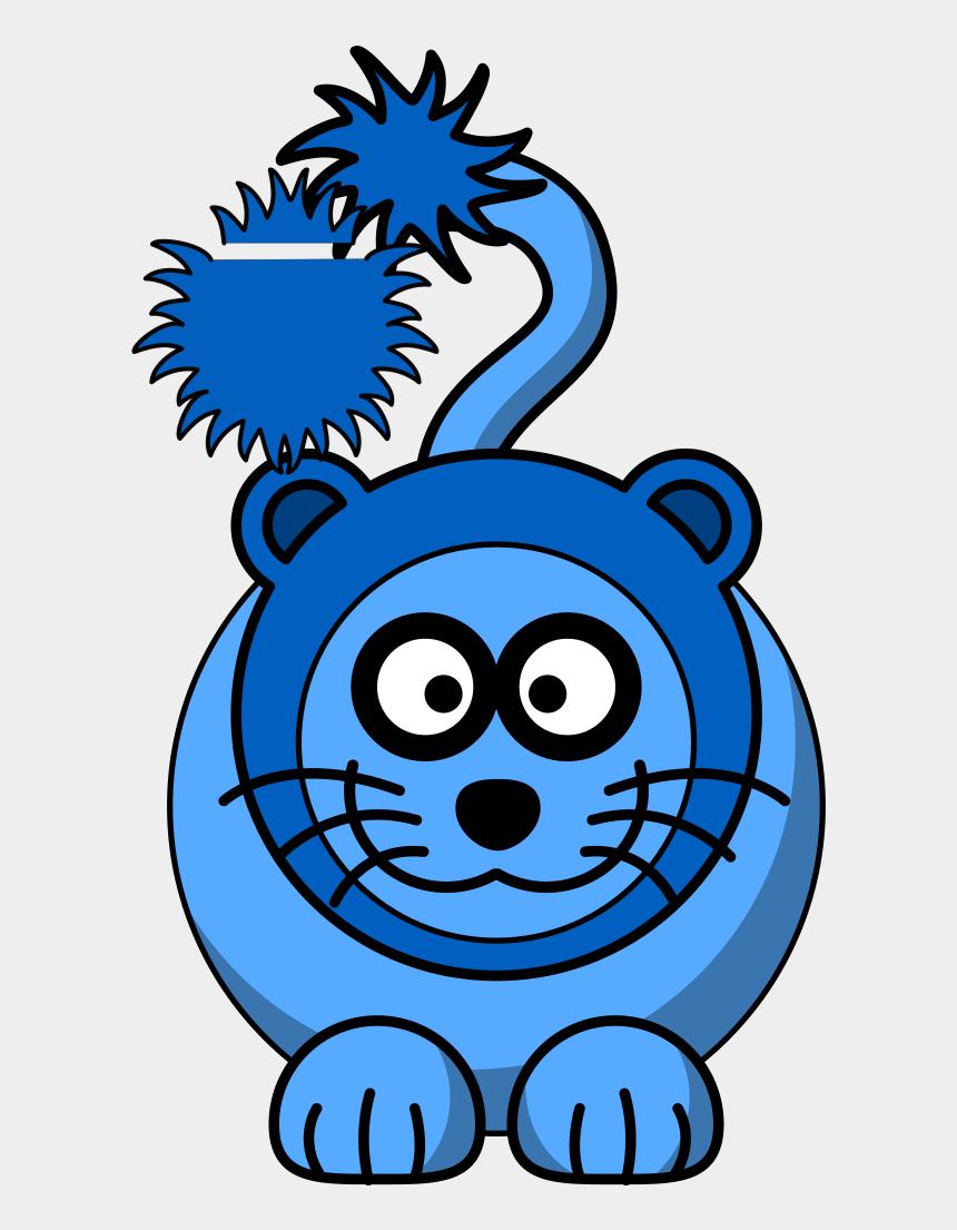 lion clipart, Cartoons - Blue Lion Svg Clip Arts 522 X 598 Px - Blue Lion Coat Of Arms