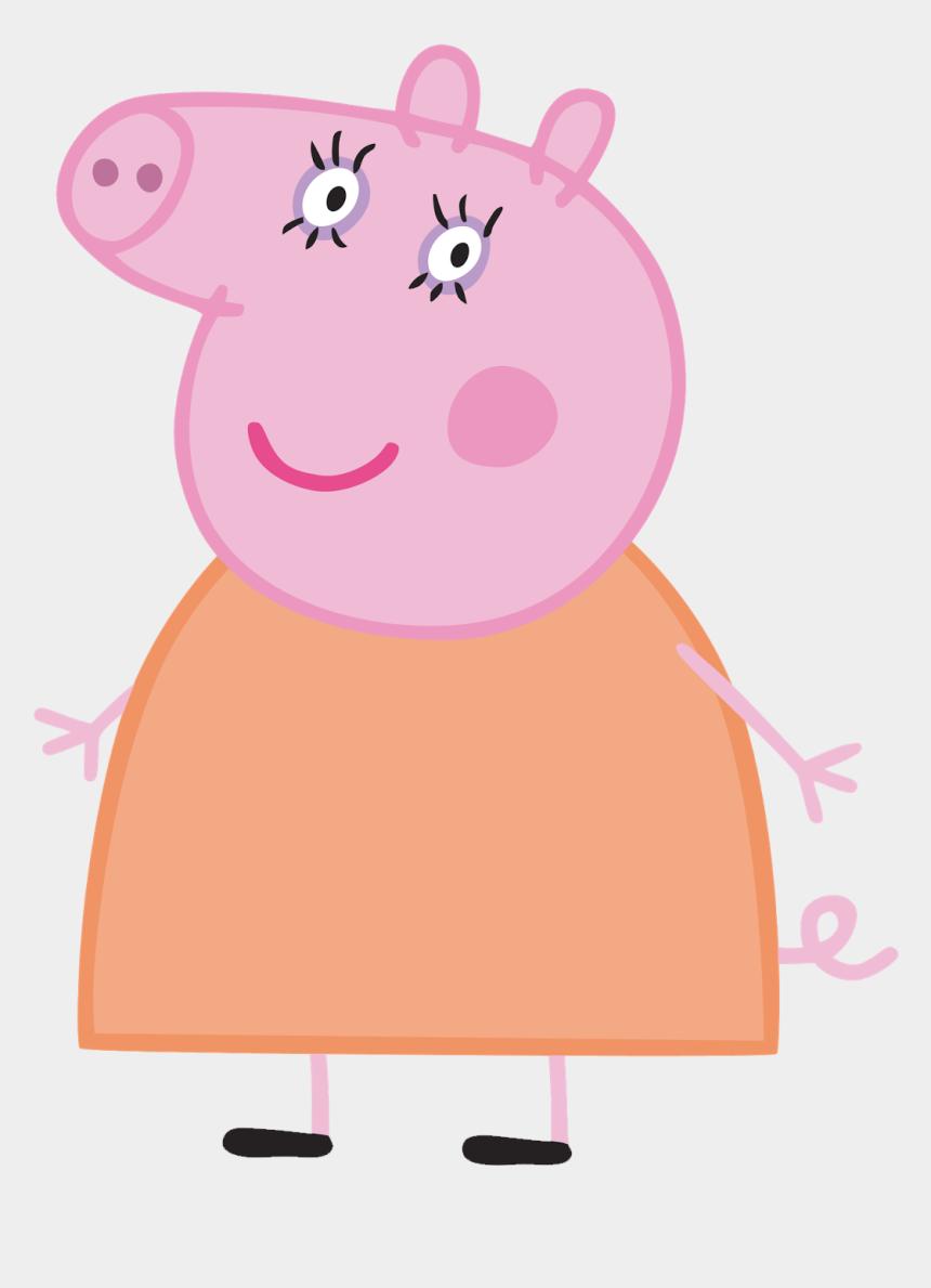 Mae Da Peppa Pig Clipart Png Download Mummy Peppa Pig