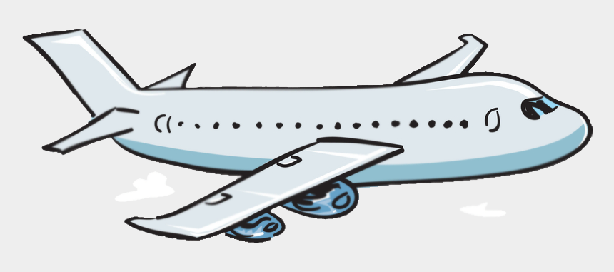 airplane clipart, Cartoons - Airplane With Banner Clipart Transparent - Cartoon Airplane