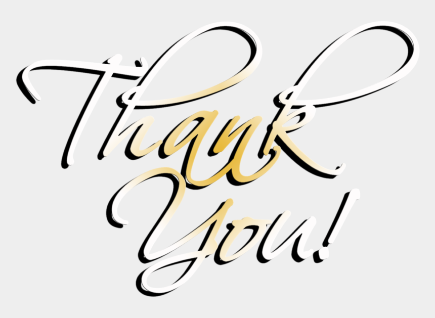 thank you clipart, Cartoons - Thank You Word Clip Art - Thank You Png Transparent