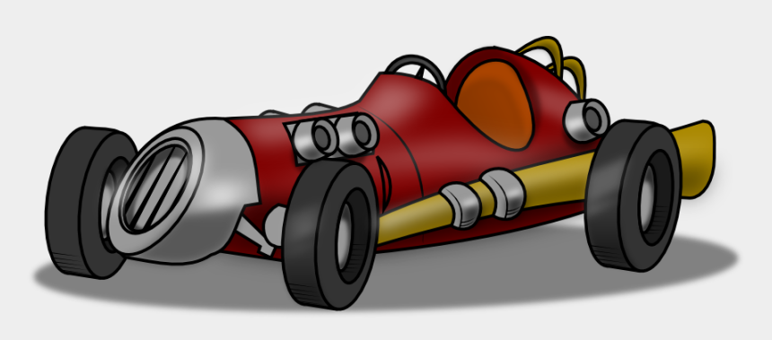 car clipart, Cartoons - Racing Race Car Clipart Black And White Free Clipart - Old Cartoon Race Car