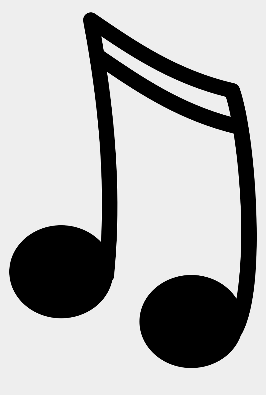 music clipart, Cartoons - Music Black And White Music Clipart - Musical Note Png Gif
