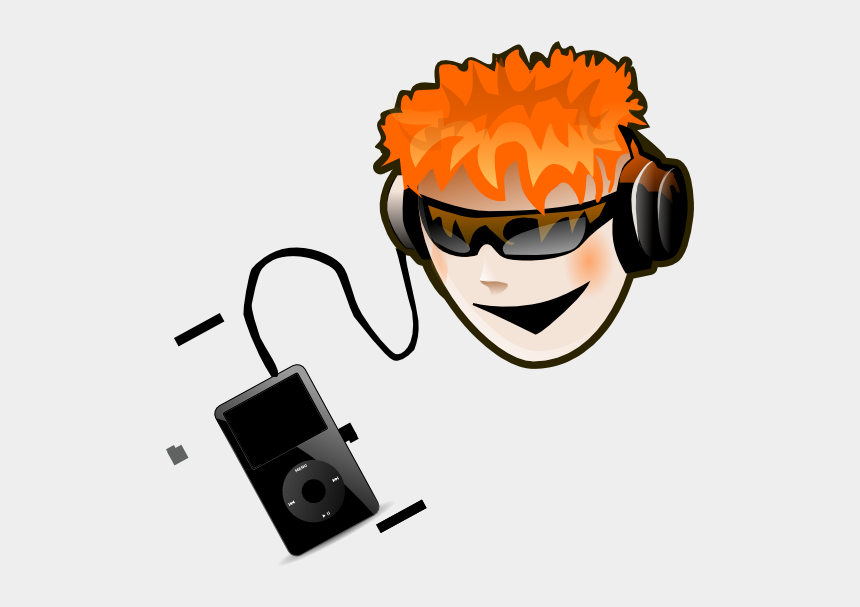 music clipart, Cartoons - Clipart Info - Listen Music Photo Transparent