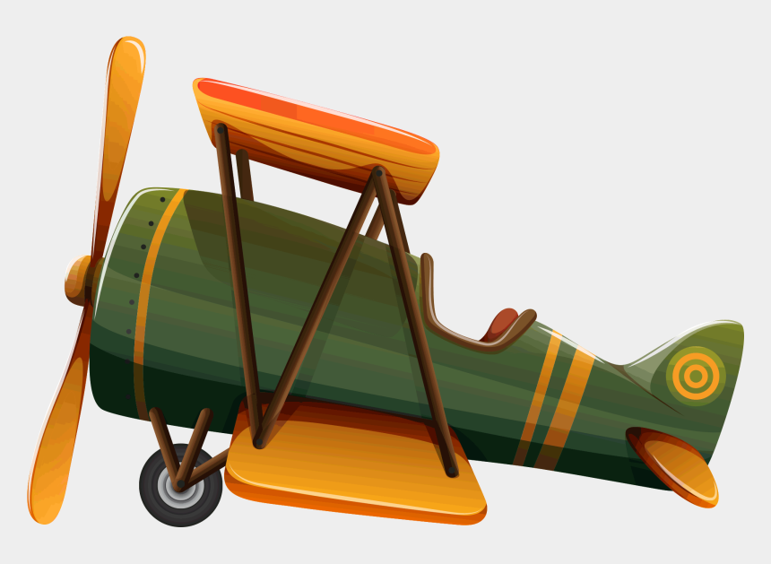 airplane clipart, Cartoons - Old Airplane Clipart