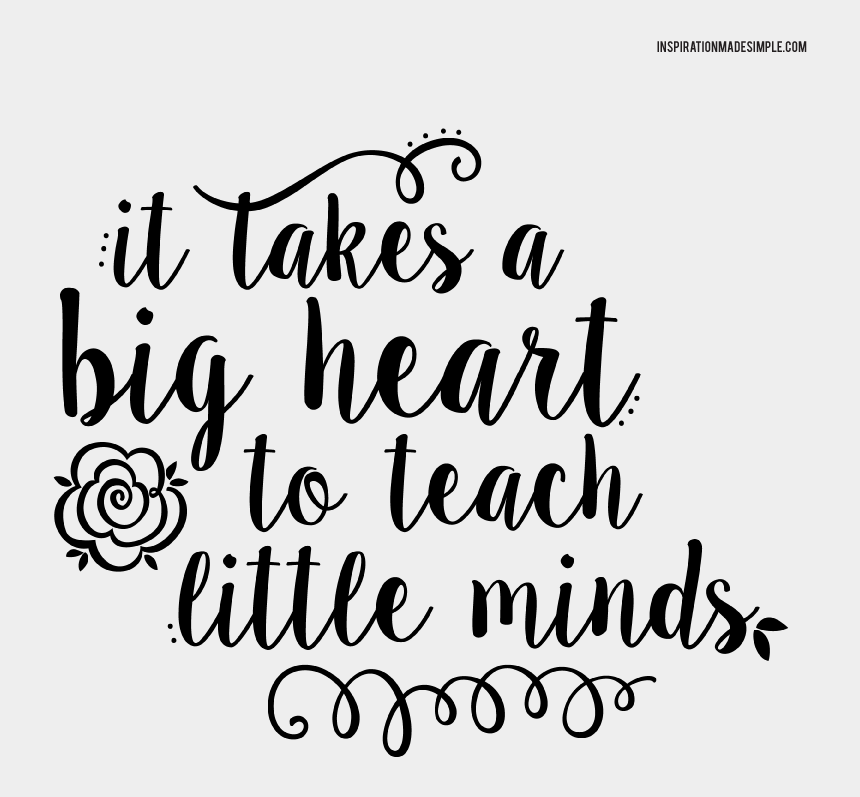 thank you clipart, Cartoons - Clipart Thank You Teacher With Apple - Takes A Big Heart To Teach Little Minds Svg