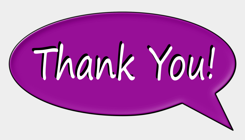thank you clipart, Cartoons - Thank You Bubble Medium Image Png Ⓒ - Thank You In A Bubble