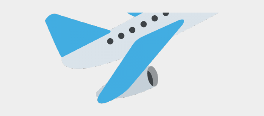 airplane clipart, Cartoons - Airplane Clipart Departure - Flugzeug Emoji