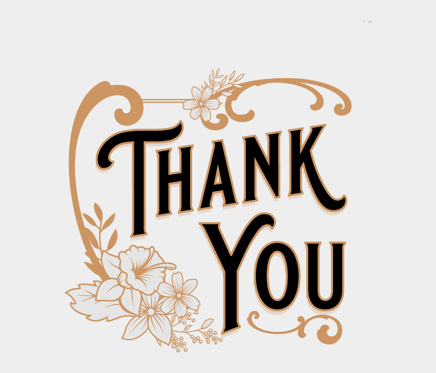 thank you clipart, Cartoons - Thank Clipart Vintage - Vintage Thank You Free
