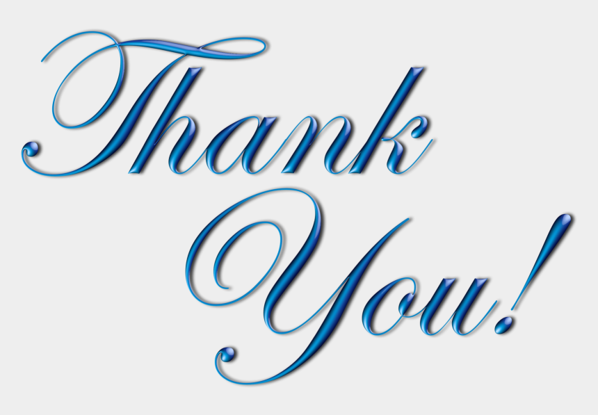 thank you clipart, Cartoons - Thank You Png Images For Ppt - Thank You Images With Transparent Background