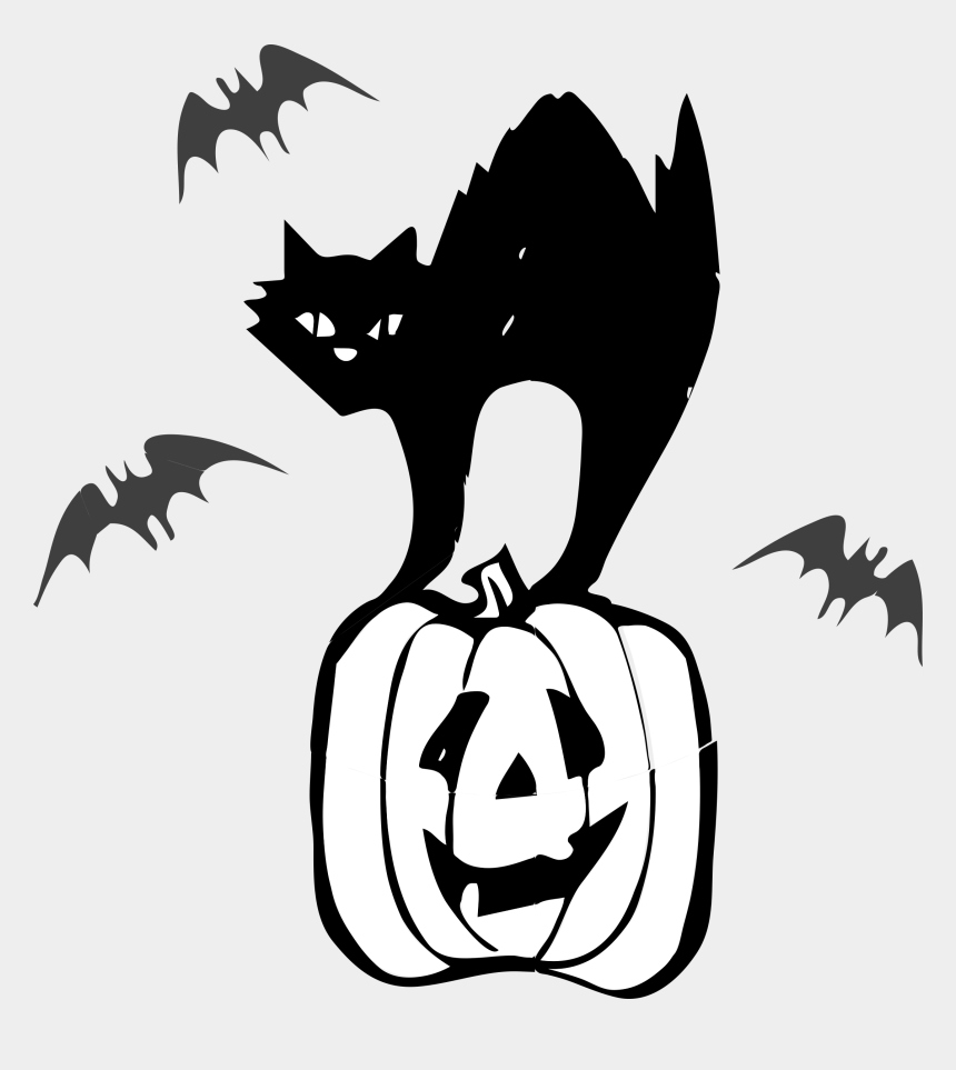 halloween clipart, Cartoons - Architetto Gatto Nero Picture Transparent Download - Halloween Black Cat Clipart