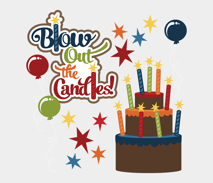 happy birthday clipart, Cartoons - Blow Out The Candles Svg Birthday Clipart Cute Birthday - Male Happy Birthday Clip Art