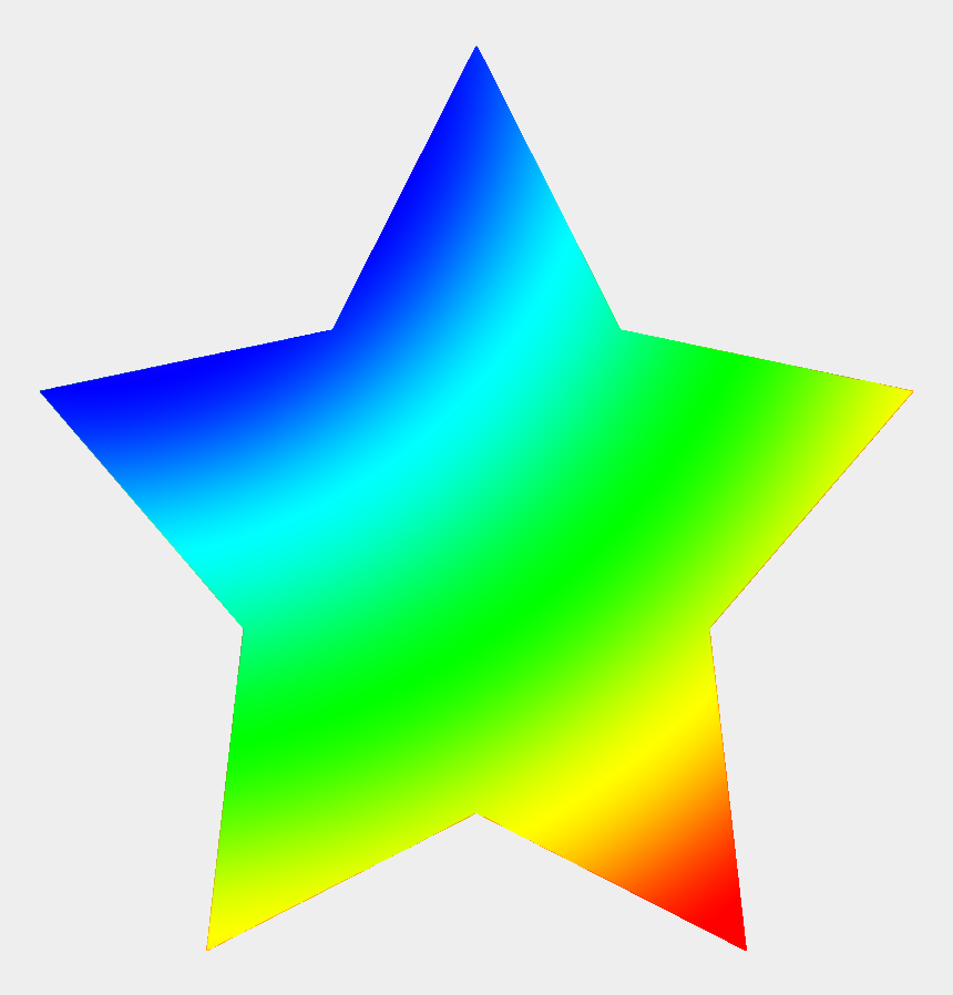 star clipart, Cartoons - Free Star Clipart Yellow Orange, Rainbow Colored Star - Clip Art