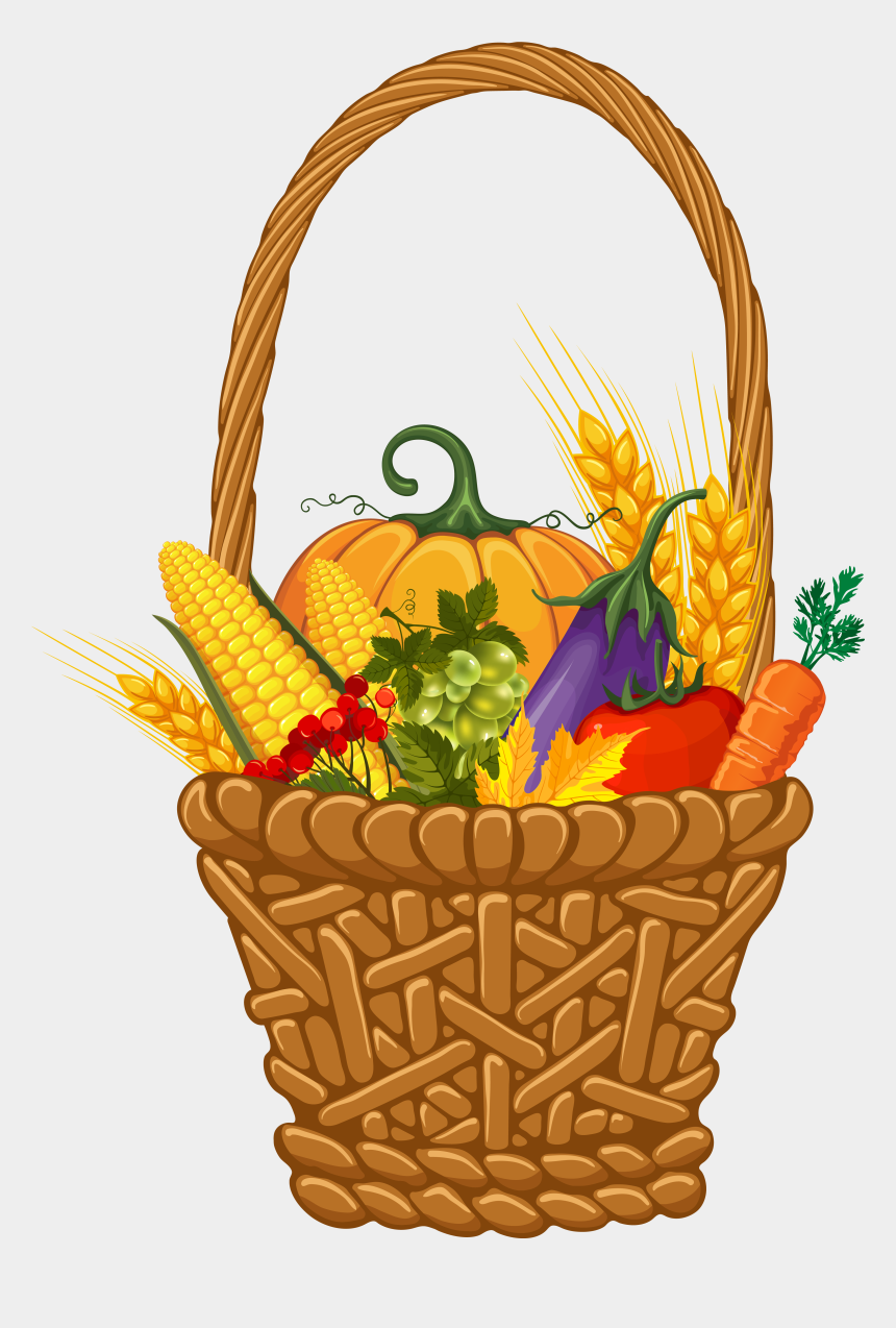 thanksgiving clip art, Cartoons - 28 Collection Of Thanksgiving Baskets Clipart - Harvest Png