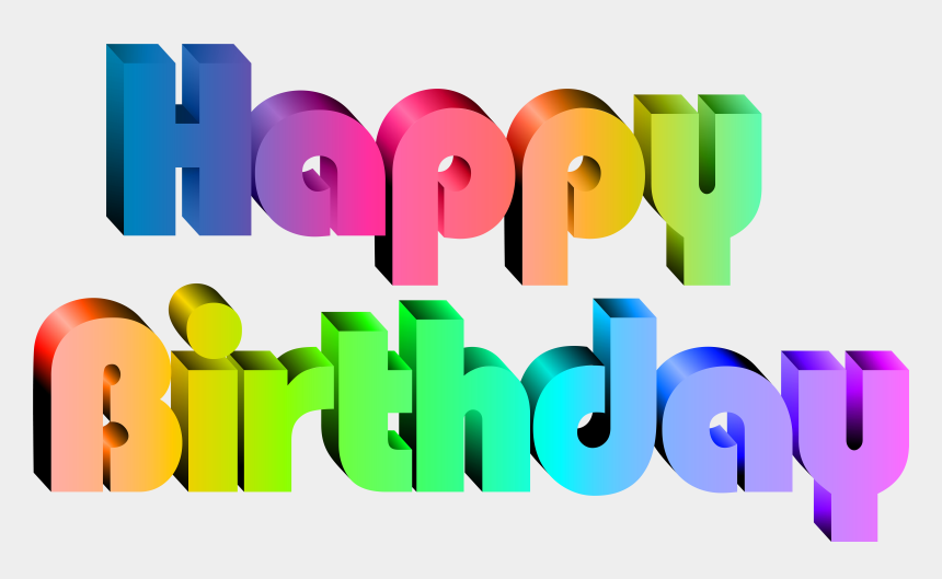 happy birthday clipart, Cartoons - Transparent Clip Art Image - Happy Birthday Transparent Png