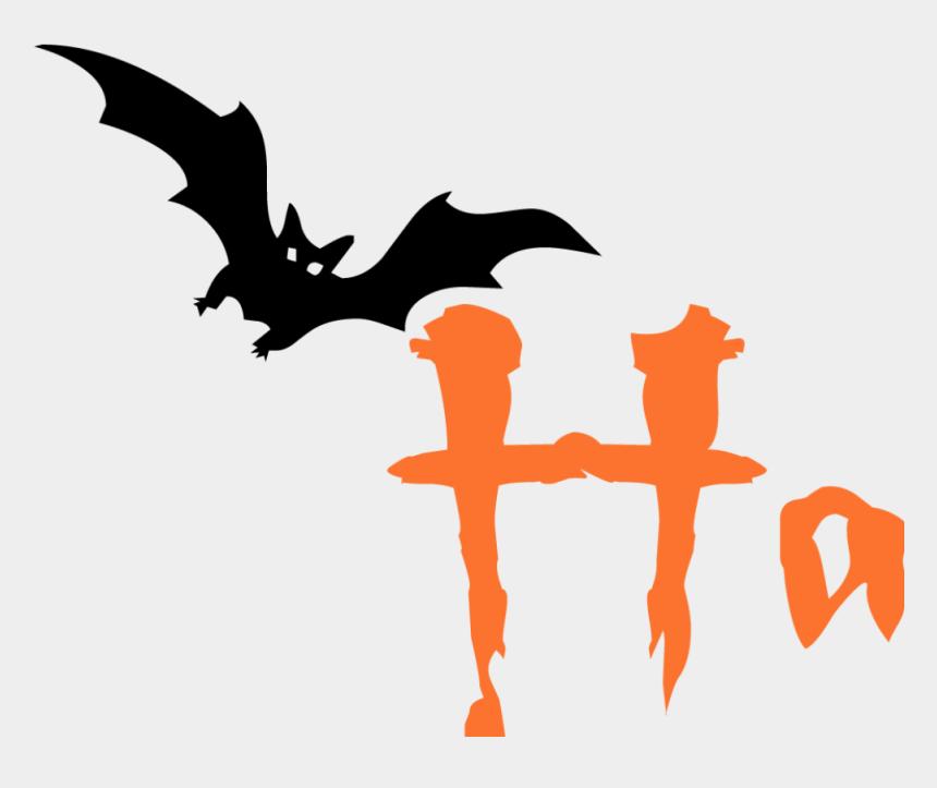 halloween clipart, Cartoons - Happy Halloween Text Image - Spooky Halloween Clip Art