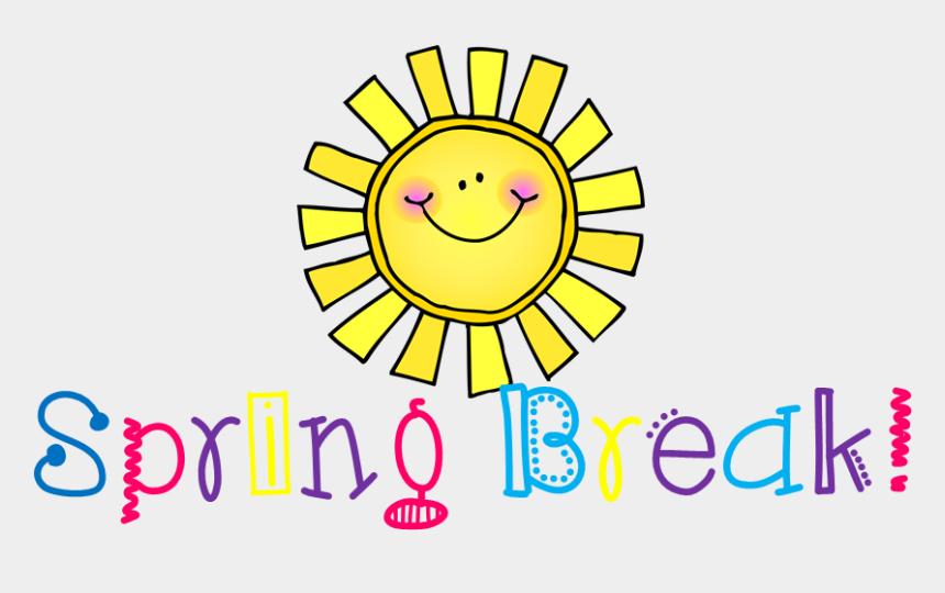 spring clipart, Cartoons - Spring Clipart Holiday - School Spring Break 2018