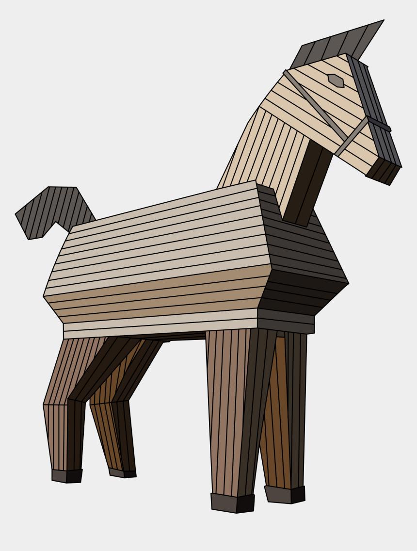 horse clipart, Cartoons - Trojan Horse Clipart Transparent