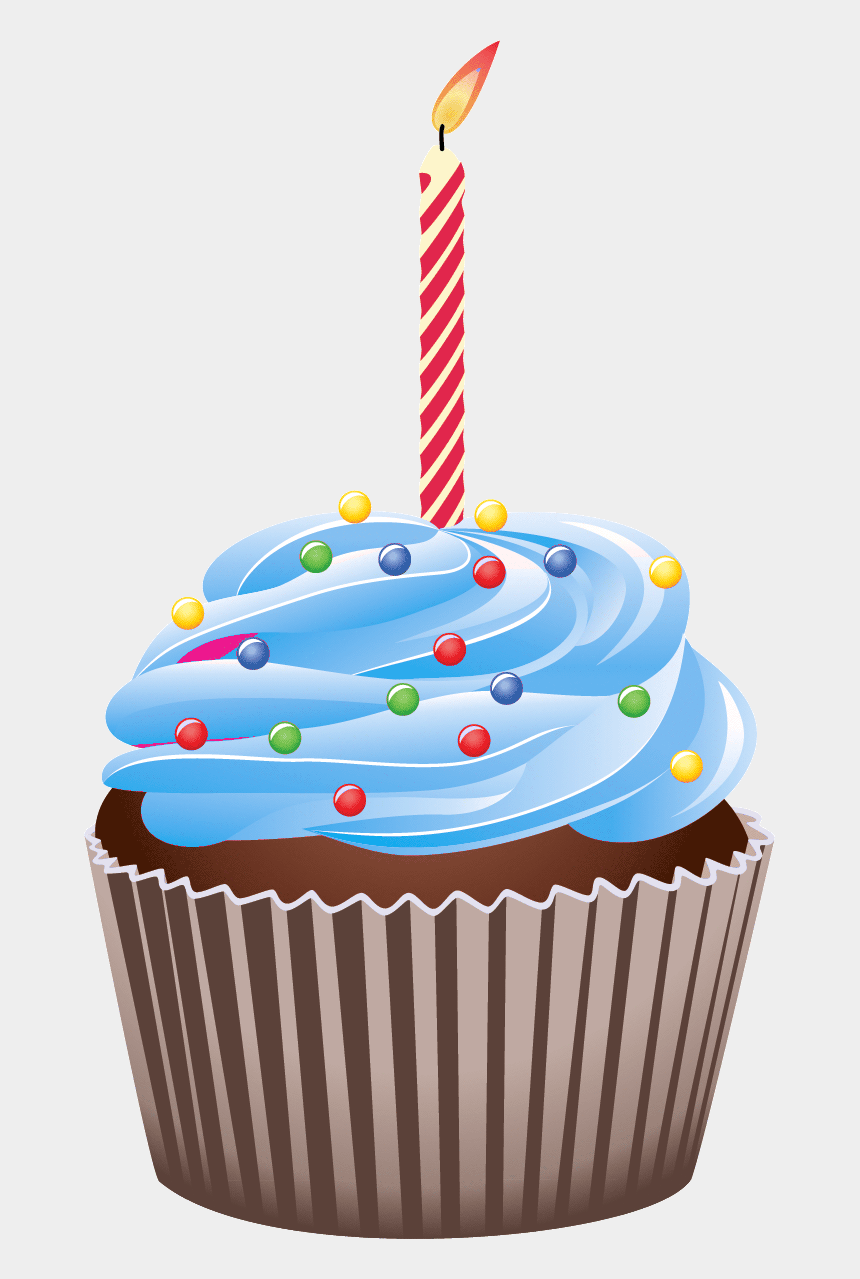 birthday clipart, Cartoons - First Birthday Clipart At Getdrawings - Cupcake Birthday Cake Png