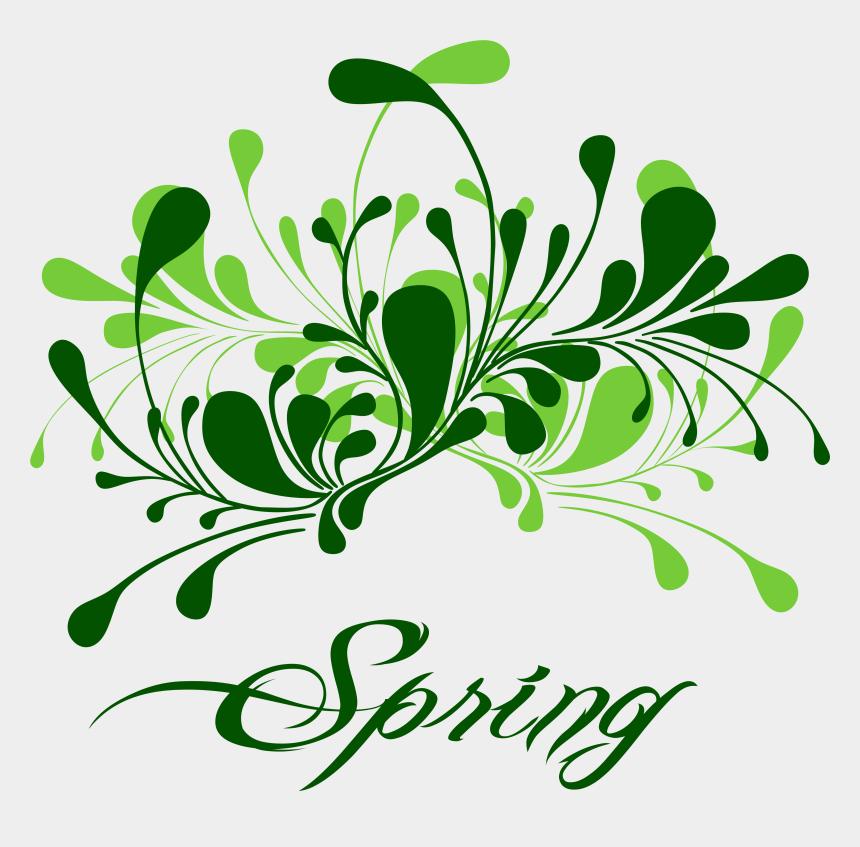 spring clipart, Cartoons - Green Spring Decor Png Clipart - Spring Decor Png