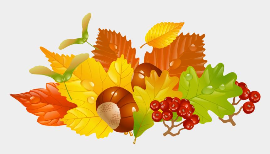 fall clip art, Cartoons - Fall Leaves Clip Art - Herbst Clipart