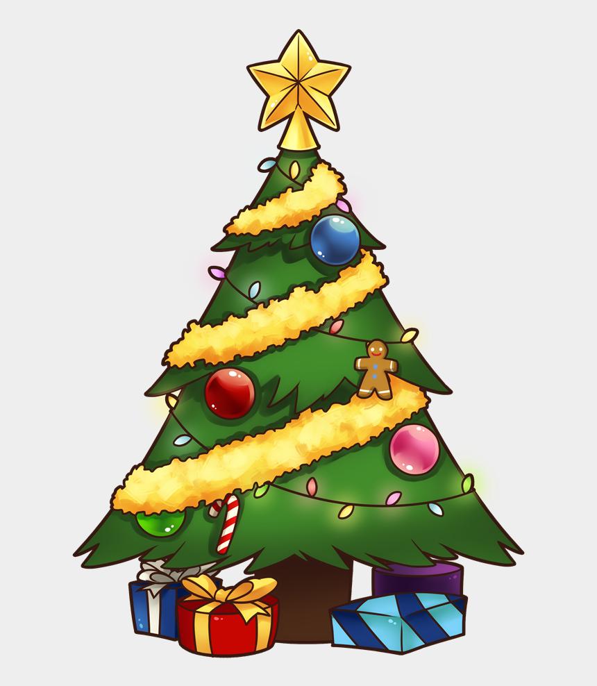 christmas tree clipart, Cartoons - Christmas Tree Clip Art - Beautiful Christmas Tree Cartoon