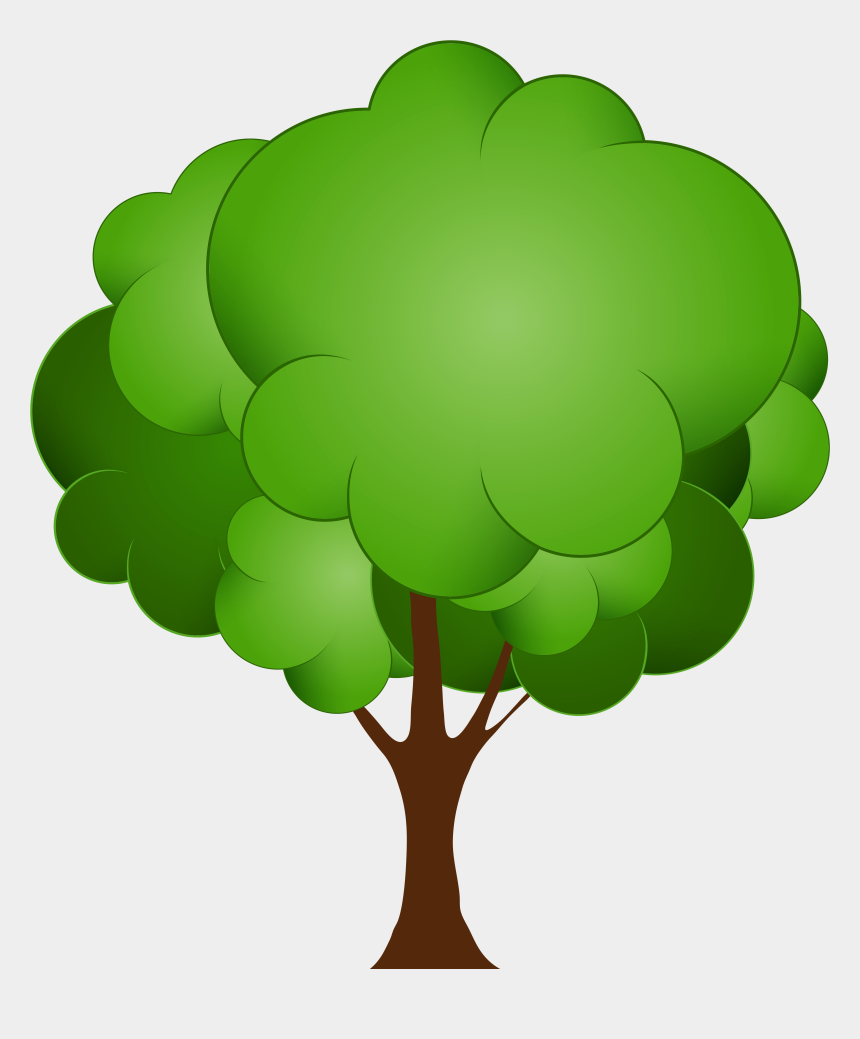 tree clipart, Cartoons - Green Tree Png Clip Art - Trees Clip Art Png