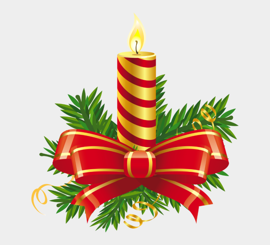 free christmas clip art, Cartoons - Christmas Clipart Candles Free - Christmas Candle Clipart