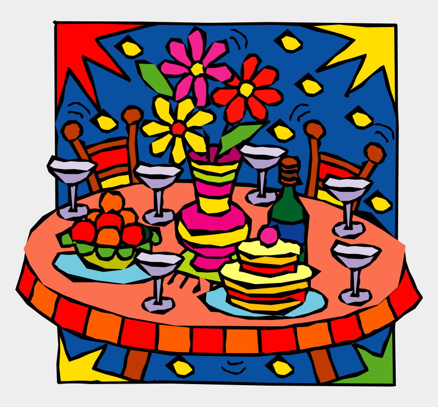 food clipart, Cartoons - Clipart Party Food - Party Food Clipart