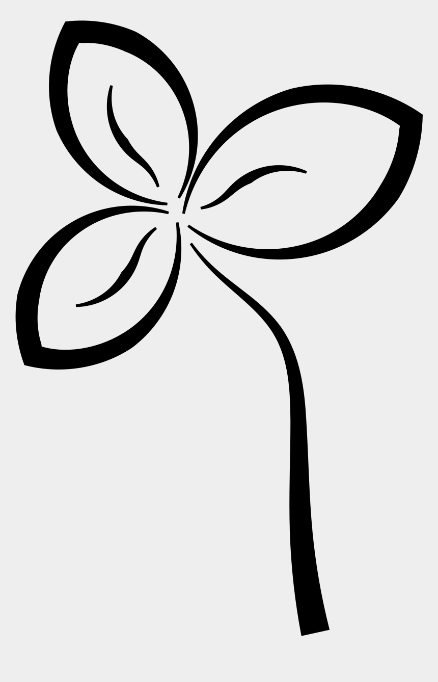 clipart black and white, Cartoons - Abstract Flower Black White Line Art Coloring Book - Clip Art