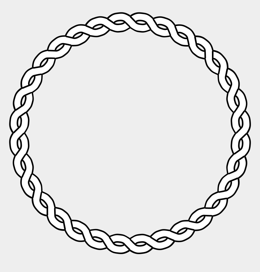 clipart black and white, Cartoons - Circle Clipart Black And White - Circle Borders