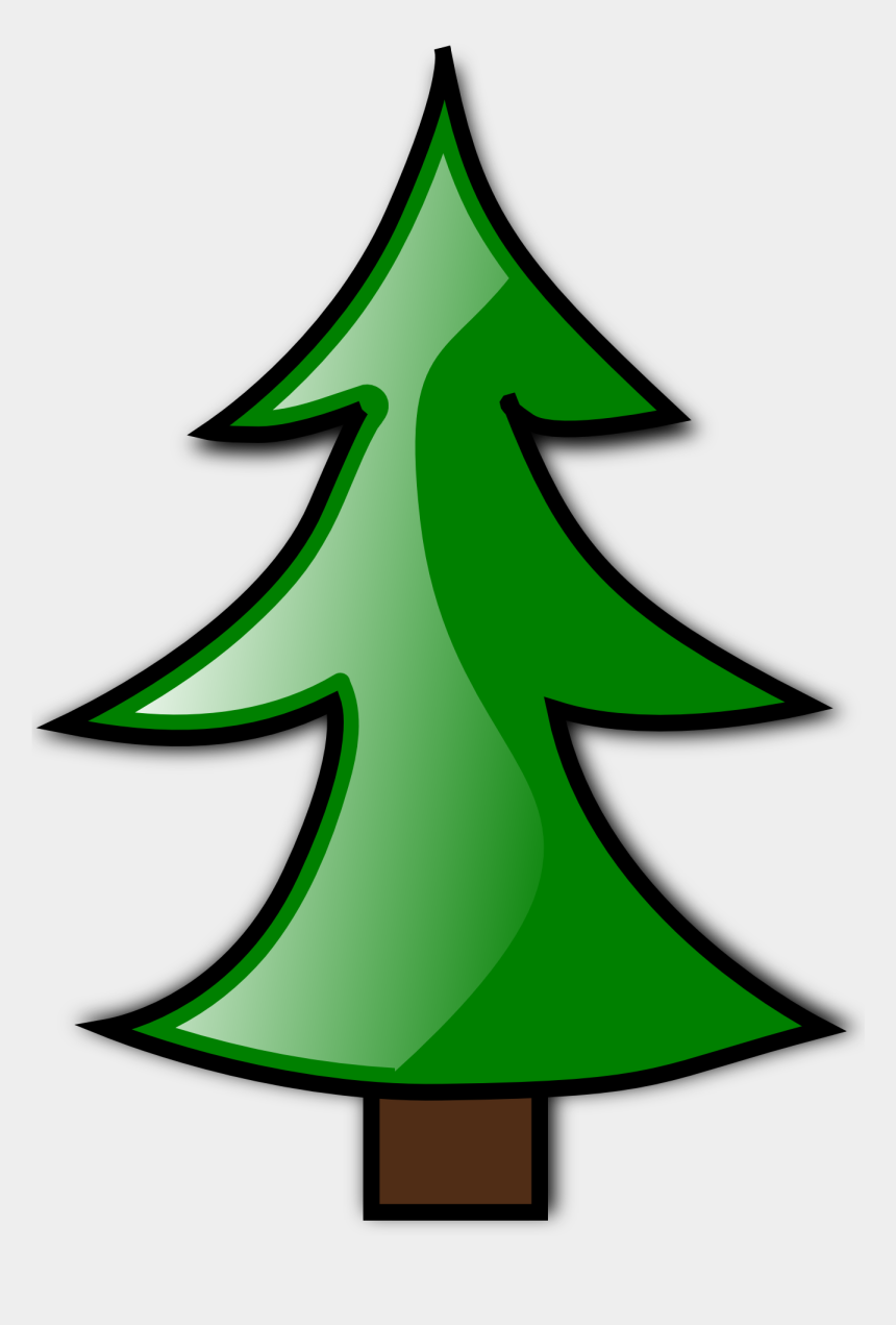 christmas tree clipart, Cartoons - Blank Christmas Tree Clip Art - Plain Christmas Tree Cartoon