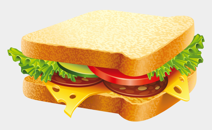 food clipart, Cartoons - Sandwich Png Clipart Image - Fast Food Images Download