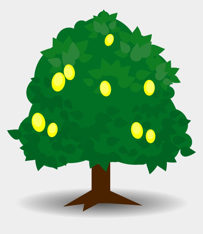tree clipart, Cartoons - Lemon Tree Clipart - Fruit Tree Clipart Png