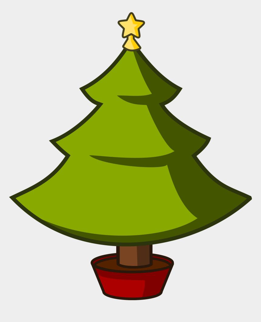 christmas tree clipart, Cartoons - Cartoon Christmas Tree Clip Art - Simple Cartoon Christmas Tree