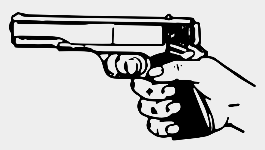 jimenez arms 9mm extended clip, Cartoons - Clip At Pistol - Gun Shot Clipart