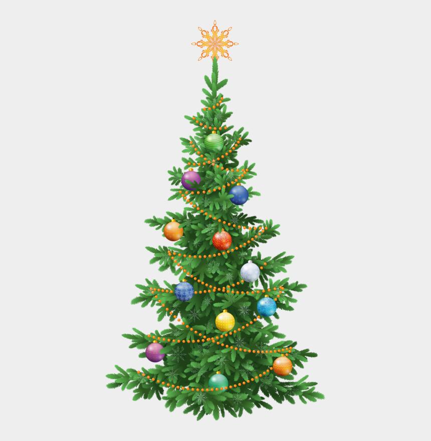 christmas tree clipart, Cartoons - Christmas Tree Clipart - Fir Tree